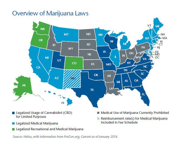 Overview of Marijuana Laws