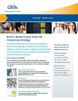 Build a Better Group Term Life Conversion Strategy