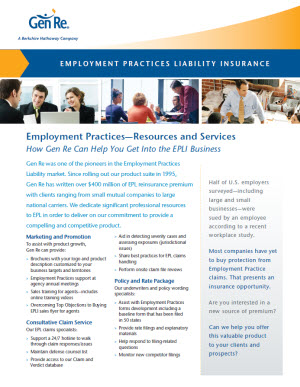 Employment Practices - Resources and Services