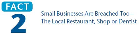 Fact 2 Small Businesses Are Breached Too