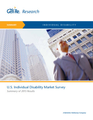 2015 Individual Disability Market Survey Summary