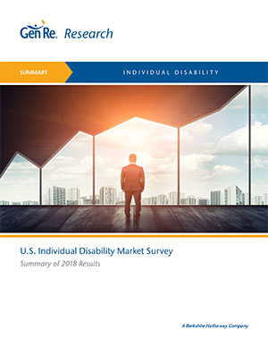 2018 Individual Disability Market Survey Summary